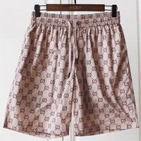 GUCCI summer new style double G printed quick dry beach shorts men and women youth sports shorts