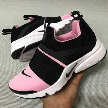 """NIKE"" Fashion Women Running Sport Casual Shoes Sneakers pink black"