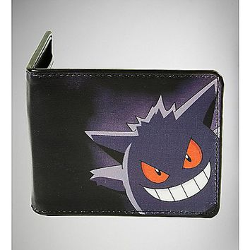 Pokemon Gengar Bifold Wallet - Spencer's