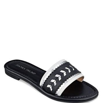 IVANKA TRUMP Flat Slide Sandals - Arina
