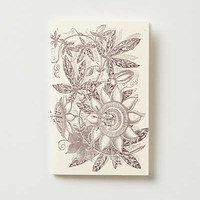 Anthropologie - Passionflower Hummingbird Journal
