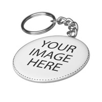 Design Your Own Custom Photo Basic Button Keychain