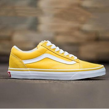 One-nice Trendsetter Vans Canvas Old Skool Flats Sneakers Sport Shoes