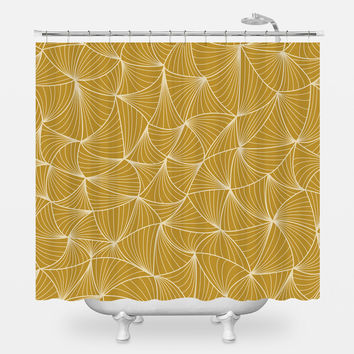 Nick Carraway Shower Curtain