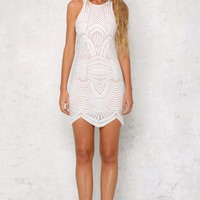 Take My Breath Away Dress White