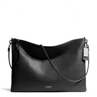 BLEECKER DAILY SHOULDER BAG IN LEATHER