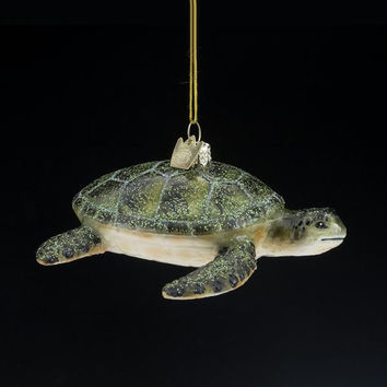 8 Christmas Ornaments - Turtle