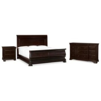 Heathridge 3 Piece Queen Bedroom Set with Dresser - Furniture - Macy's