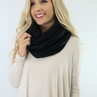 Denver Dreaming Black Infinity Scarf
