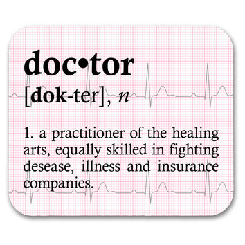 Doctor Definition Mouse Pad