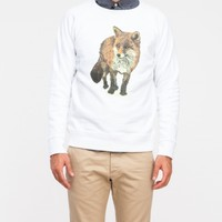 Maison Kitsune Walking Fox Sweater