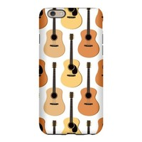 Acoustic Guitars Pattern iPhone 6 Slim Case