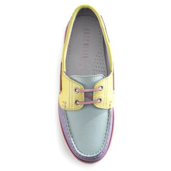 Womens Diana Pastel Boat Shoes