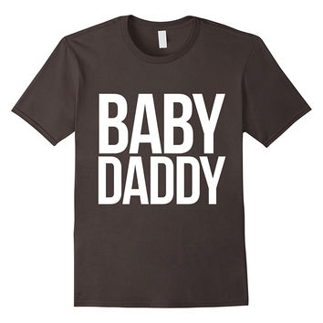 Baby daddy t-shirt funny new dad to be shirt father's day t
