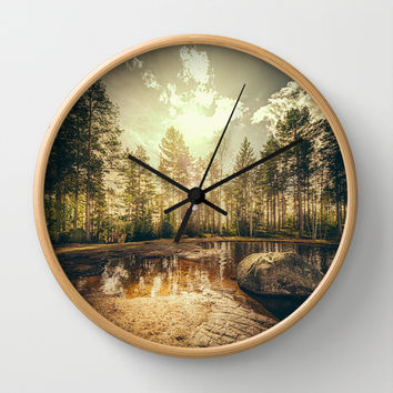 Sonne II Wall Clock by HappyMelvin