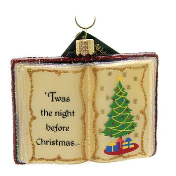 Old World Christmas THE NIGHT BEFORE CHRISTMAS Glass Classic Children 32381