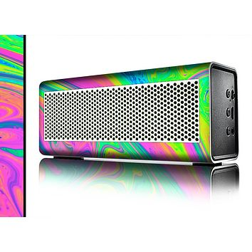 The Neon Color Fushion V3 Skin for the Braven 570 Wireless Bluetooth Speaker