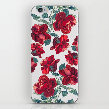 Roses  Pattern iPhone & iPod Skin by MIKART
