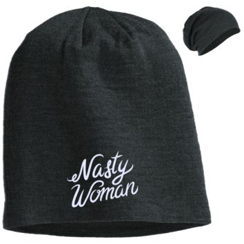 Nasty Women DT618 District Slouch Beanie