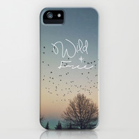 WildandFree iPhone & iPod Case by Brandy Coleman Ford