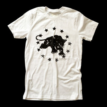 """""""Black Panther"""" w/Stars - Unisex t-shirt - by American Anarchy Brand"""
