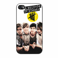 5Sos Band Poster Collage iPhone 4 Case