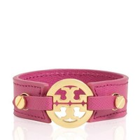 Logo Skinny Double Snap Cuff