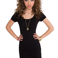 Riviera Basic Dress - Black