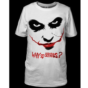 The Joker Tee Shirt T-shirt Tops Cosplay Men's Women's Shirt Sports Tee Casual S-3XL