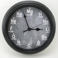 PERSONALIZED Science CHEMISTRY Teacher's Wall CLOCK
