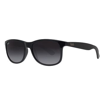 Cheap Ray Ban RB4202 601/8G 55mm Andy Black Grey Gradient Square Sunglasses