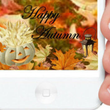 "SnapChat Geofilter, ""Happy Autumn"", On-Demand, Autumn Geofilter, Holiday Geofilter, Custom Geofilter"