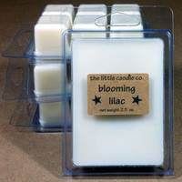 Soy Wax Melt Blooming Lilac Scented Breakaway by littlecandles