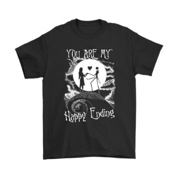 KUYOU You Are My Happy Ending The Nightmare Before Christmas Shirts