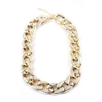 """Zhané"" Chunky Chain Necklace"