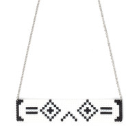 Porter Robinson Stacked Perler Necklace