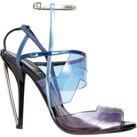 Iridia PVC Ankle-Strap Sandals