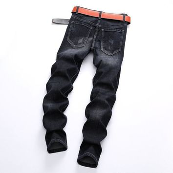 Fashion Stretch Winter Ripped Holes Jeans [1567946309725]