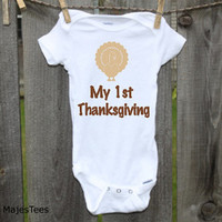 1st Thanksgiving Onesuits®, Baby's First Thanksgiving