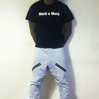 Adult Medium Grey Hip Hop Style Sweats