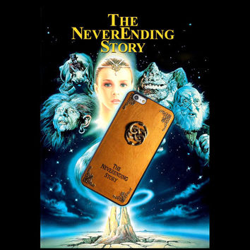Neverending Story, Custom Phone Case for iPhone 4/4s, 5/5s, 6/6s, 6/6s+, iPod Touch 5