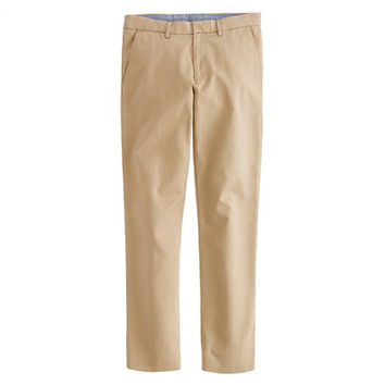 J.Crew Mens Bowery Slim Pant In Cotton Twill