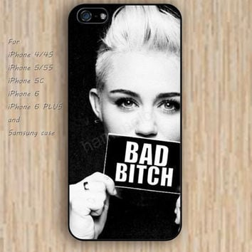 iPhone 5s 6 case bad bitch phone case iphone case,ipod case,samsung galaxy case available plastic rubber case waterproof B277
