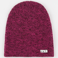 Neff Daily Heather Beanie Magenta/Black One Size For Men 24590235301