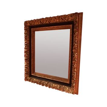 Pre-owned Large Framed Wall Mirror