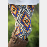 Women's Stretch Print Leggings [8096859335]