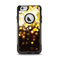 The Gold Unfocused Orbs of Light Apple iPhone 6 Otterbox Commuter Case Skin Set