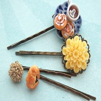 Afternoon Tea Filigree Hair Pins