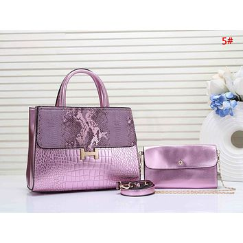 Hermes New fashion leather shoulder bag women handbag two piece suit bag 5#