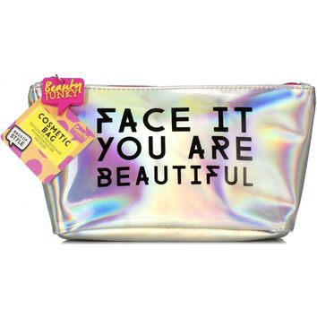 Face It, You Are Beautiful Beauty Bag